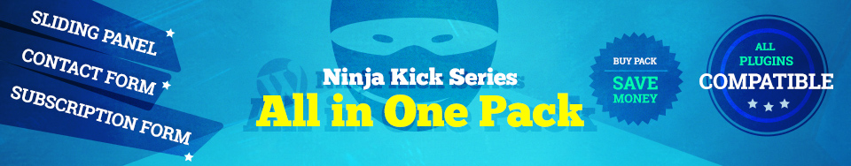 Ninja Kick WordPress Pack