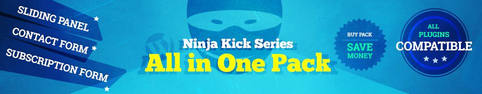 Ninja Kick WordPress Pack